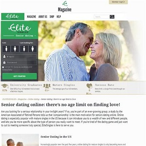 Singles over 60 dating sites
