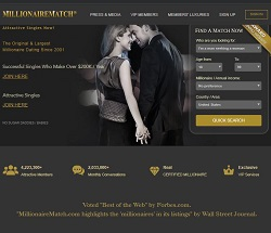 Free dating millionaire sites