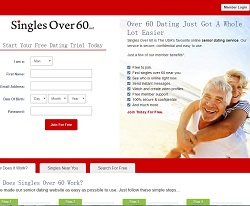 Dating sites for persons over 60