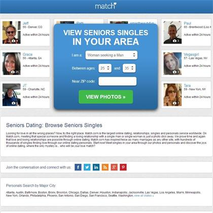Dating sites over 70