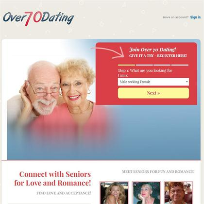 over 70 dating