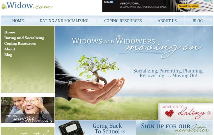 Dating websites for widows and widowers