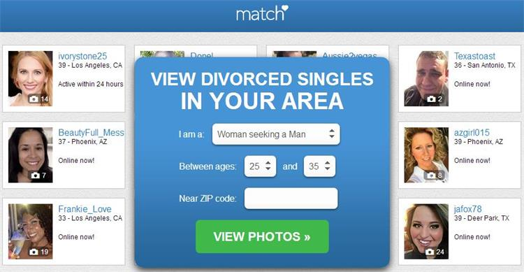 dating site divorced